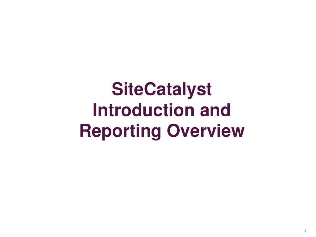Adobe Digital Analytics - SiteCatalyst, Test & Target Workshop