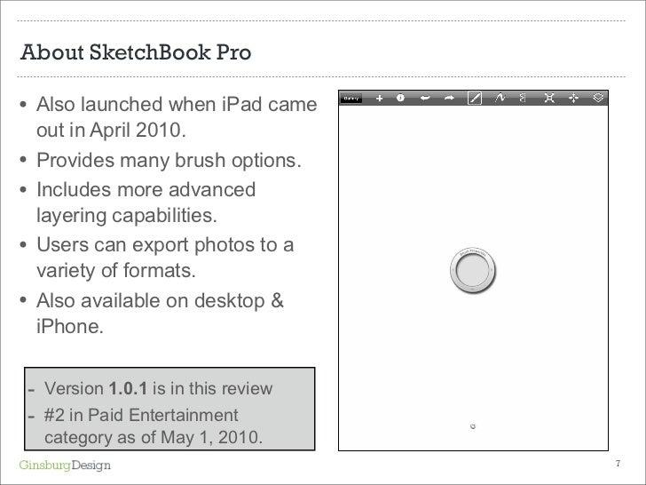 SketchBook Pro: Brush Properties •