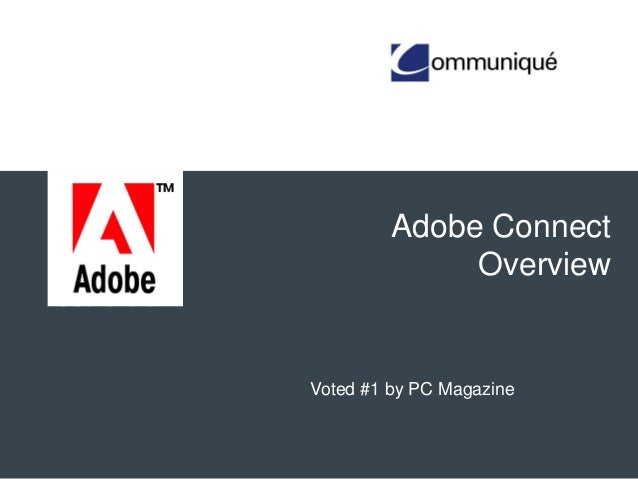 Adobe Connect Overview Voted #1 by PC Magazine