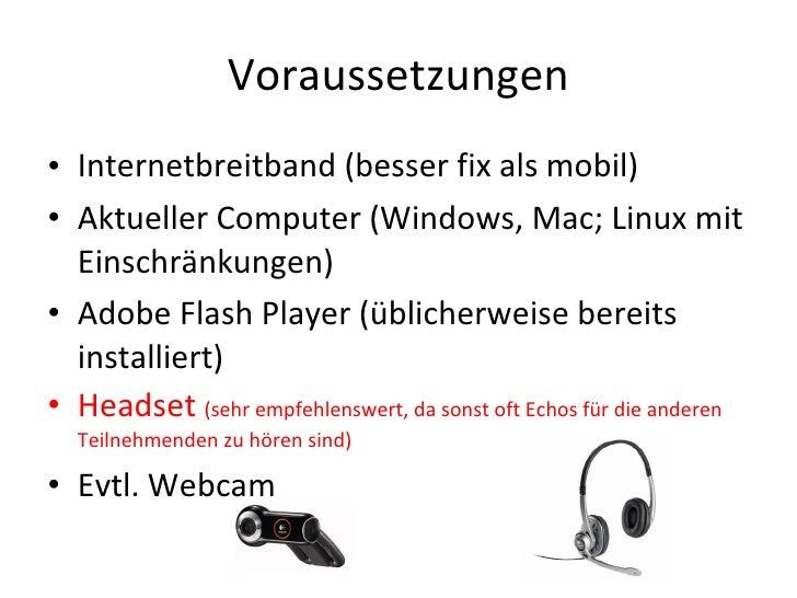 Adobe connect kurzanleitung udpate mai 2010 Slide 2