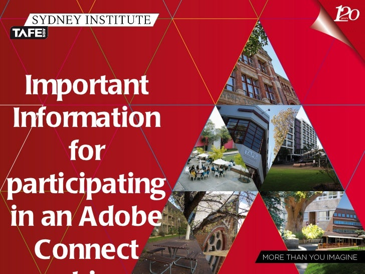 ImportantInformation     forparticipatingin an Adobe  Connect