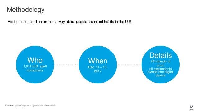 2018 Adobe Consumer Content Survey  Slide 2