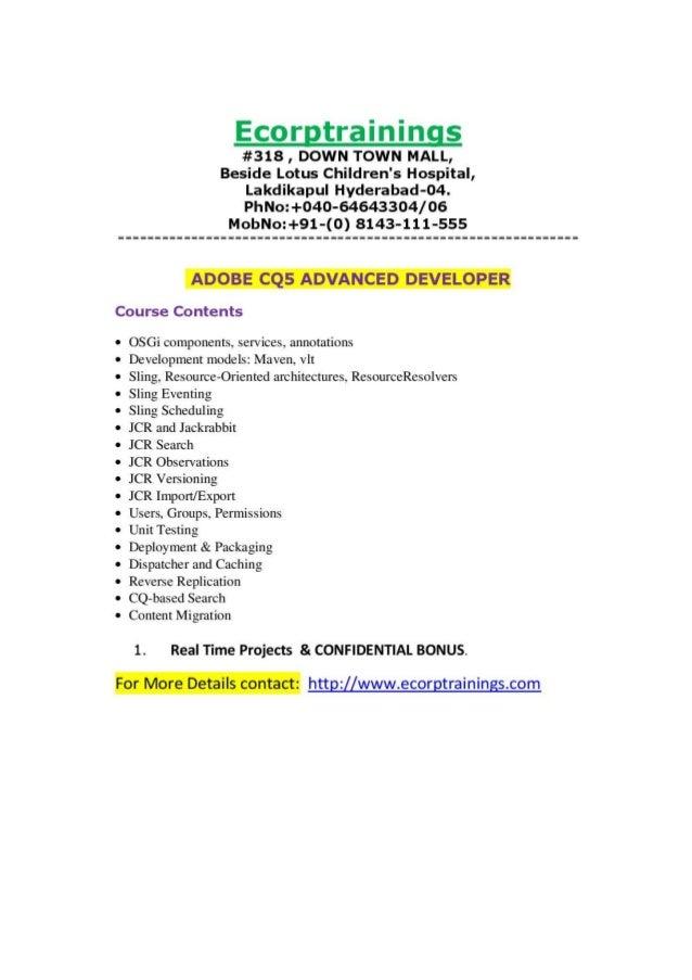 Aem Developer Resumes