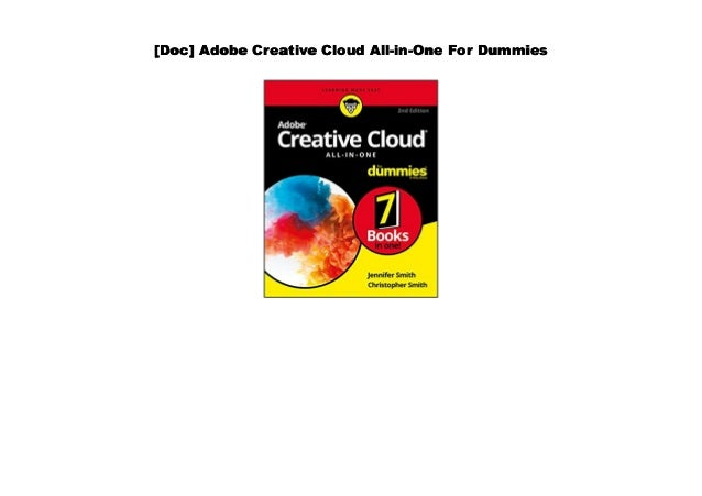 Original Adobe Creative Cloud Design Tools All-in-One For Dummies Software Price