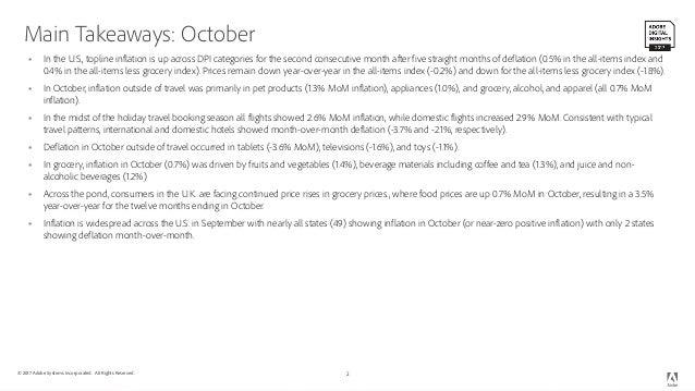 Adobe Digital Economy Project -- October 2017 Slide 2