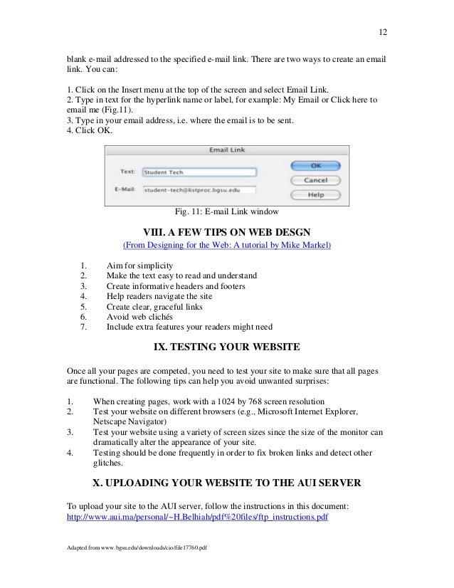 Pdf dreamweaver cs3 tutorials