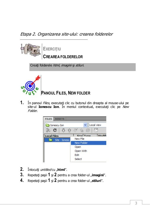 Crearea unui site in Adobe Dreamweaver CS  Patrascu Frincu Mihaela Hanelore Slide 3