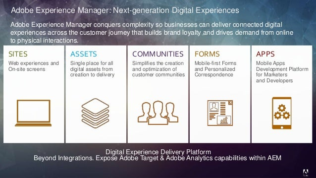 adobe experience manager vision and roadmap