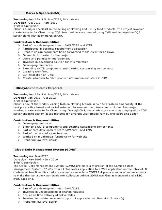 Adobe experience manager- 8+ Years_Resume1