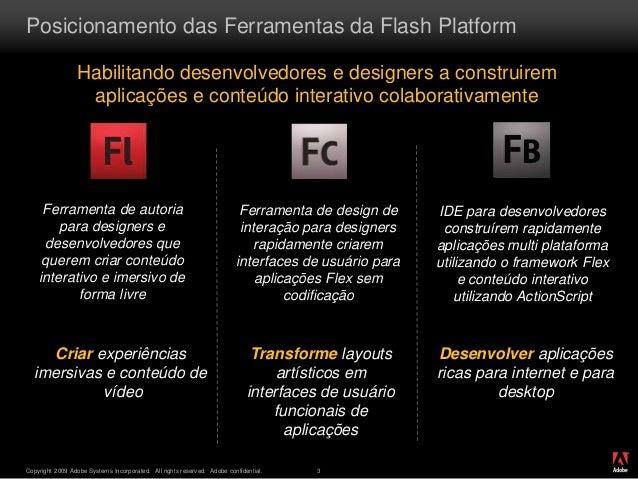 Adobe flash platform fabricio Slide 3