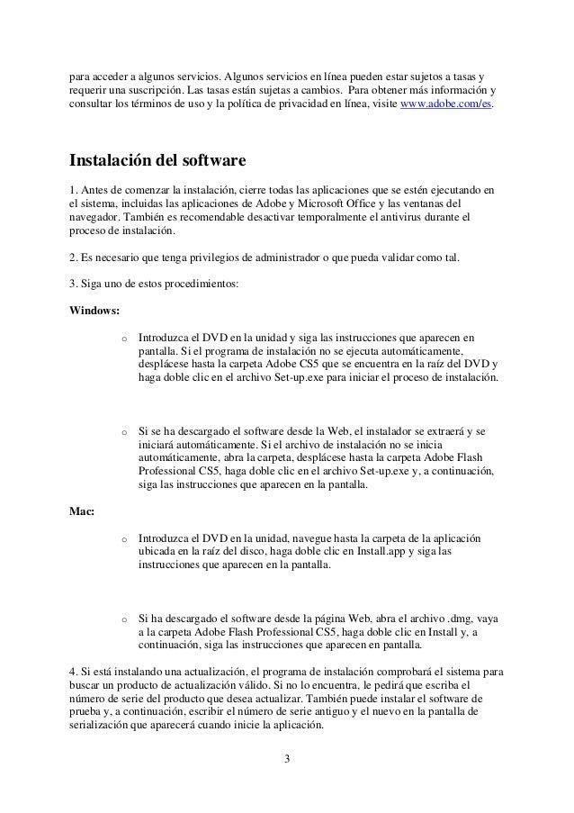 Adobe flash professional cs5 read me Slide 3
