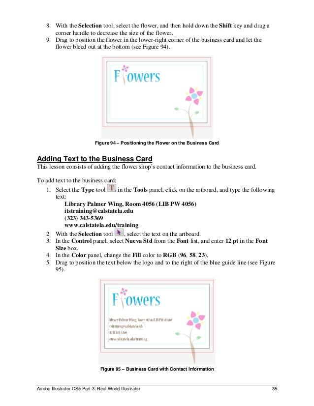 Adobe illustrator cs5 full tutorials business card 85 adobe illustrator cs5 reheart Choice Image