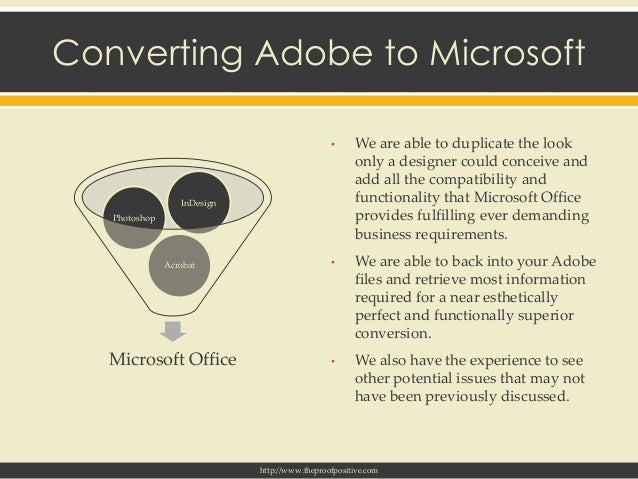 Adobe Indesign Conversions To Microsoft Word Excel And