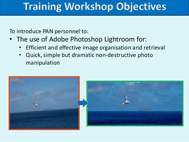 Adobe Lightroom Training Workshop Slides Slide 2