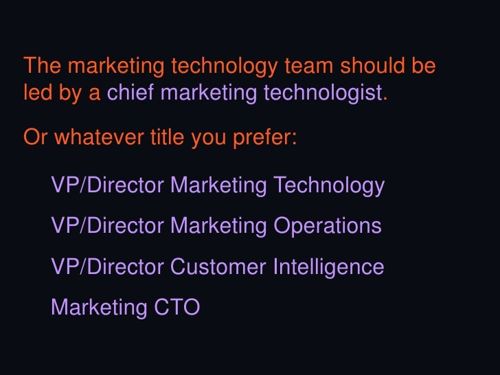 Creative technology will continue to growand thrive… but will increasingly need tointegrate with the client more deeply.Th...