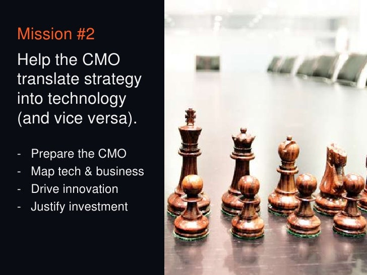 A client-side marketingtechnology team shouldbe your new best friend.