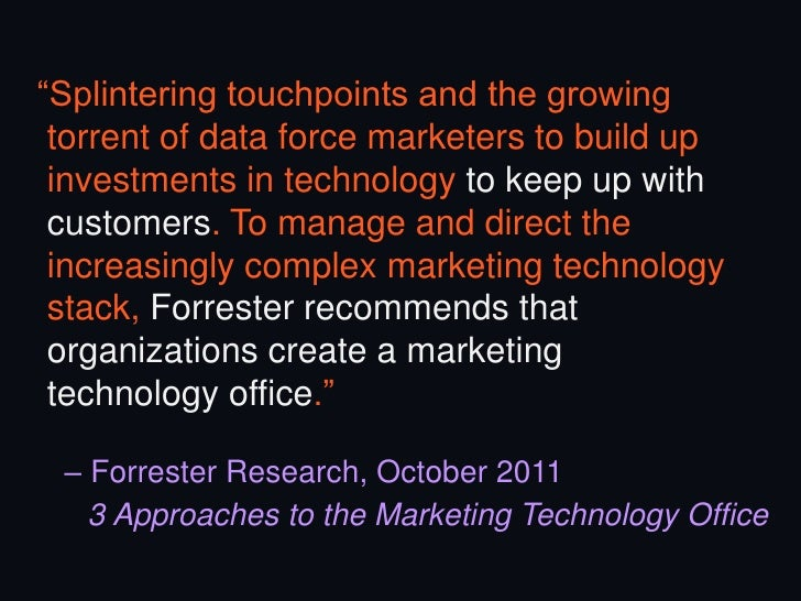 Rise of the Marketing Technologist (And What It Means For Agencies)