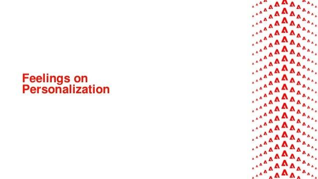 Feelings on Personalization