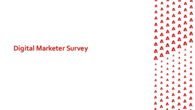 Adobe Personalization 2020 Survey of Consumers and Marketers Slide 3