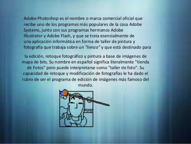 Adobe photoshop práctica Slide 2
