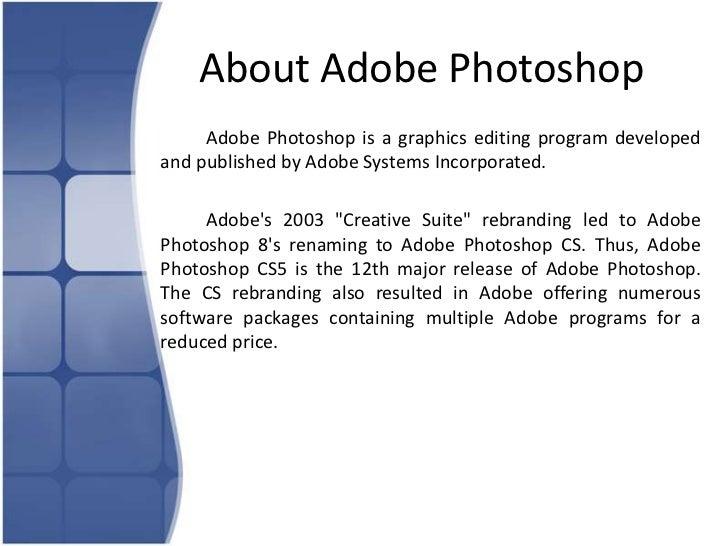 adobe photoshop about rh slideshare net manual adobe photoshop cs3 en español pdf gratis Adobe Photoshop CS3 Crack