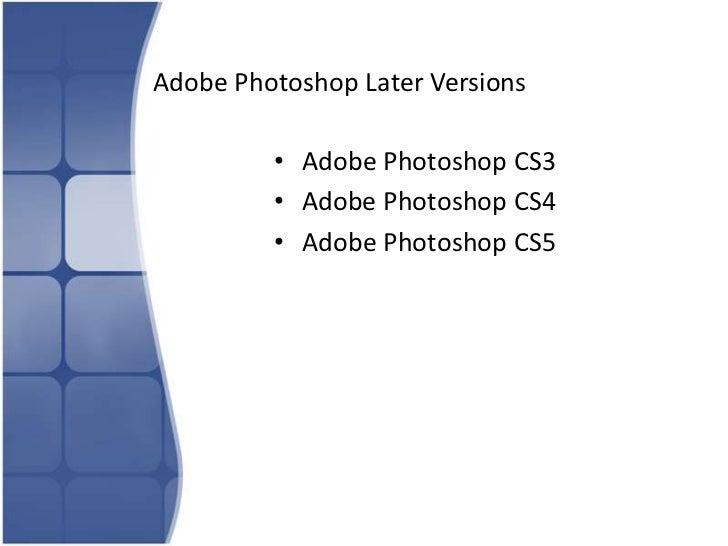 adobe photoshop about rh slideshare net Adobe Photoshop CS4 Adobe Photoshop CS3 Crack