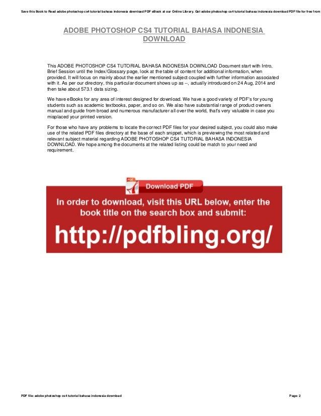 Psychliga — download tutorial adobe photoshop cs5 bahasa indonesia pdf.