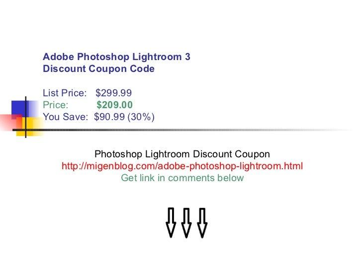 Discount price adobe photoshop lightroom 3