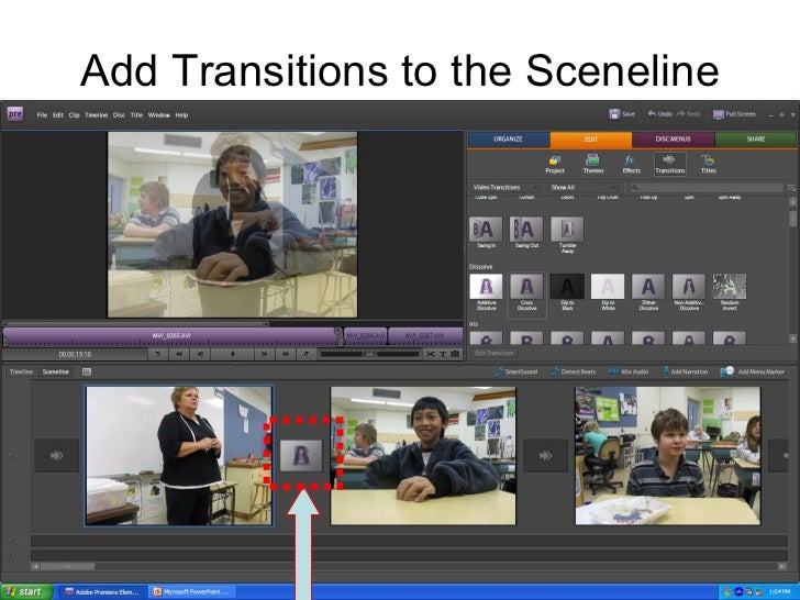 adobe premiere elements transitions tutorial