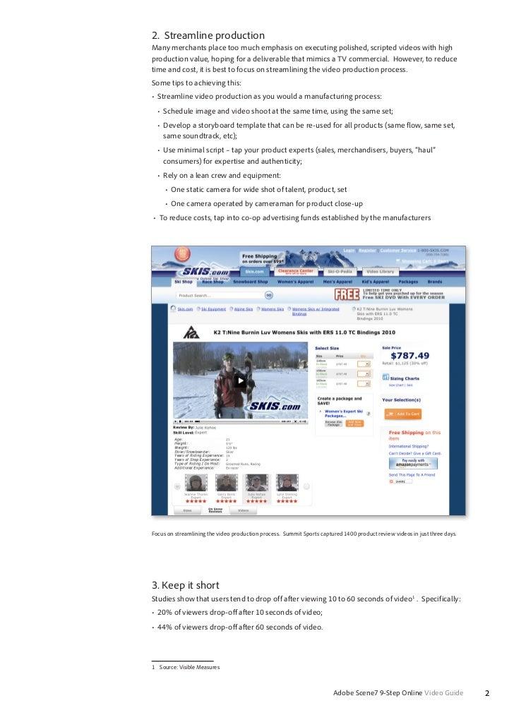 Nine Easy Steps to Online Video Success Slide 2
