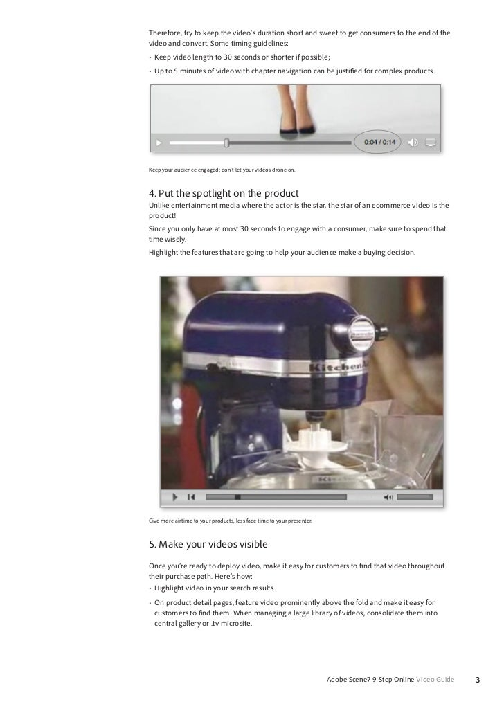 Nine Easy Steps to Online Video Success Slide 3