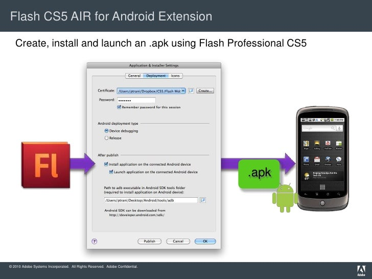 Adobe AIR 2 5 Beta for Android