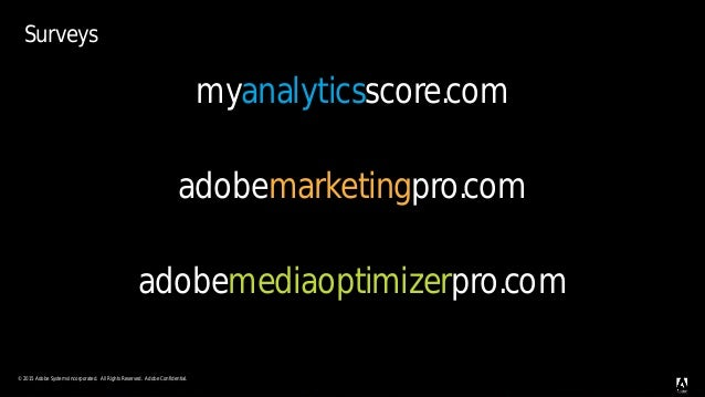 © 2015 Adobe Systems Incorporated. All Rights Reserved. Adobe Confidential.© 2015 Adobe Systems Incorporated. All Rights R...