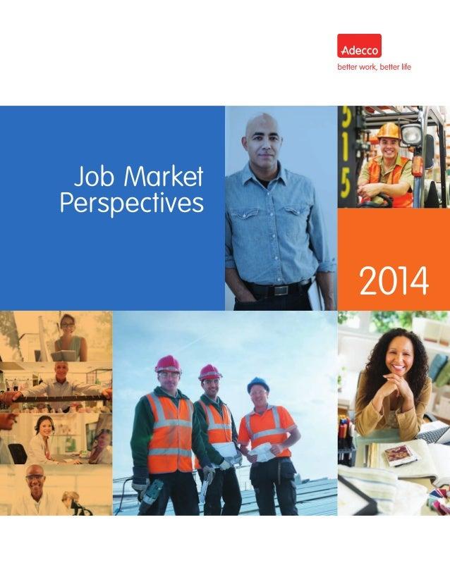 Job Market Perspectives 2014