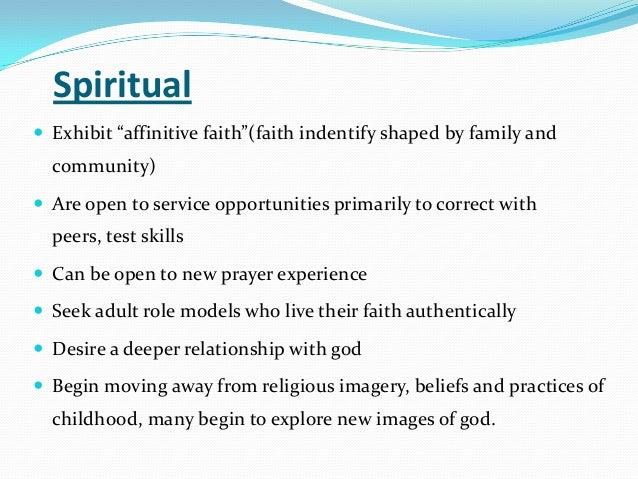 Characteristics of spirituality