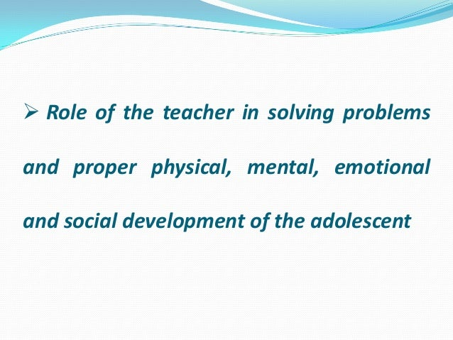 problems of adolescence and its solution pdf