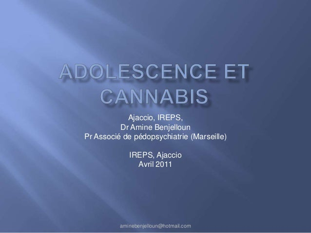 Ajaccio, IREPS,          Dr Amine BenjellounPr Associé de pédopsychiatrie (Marseille)             IREPS, Ajaccio          ...