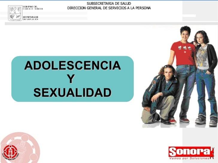 ADOLESCENCIA  Y  SEXUALIDAD