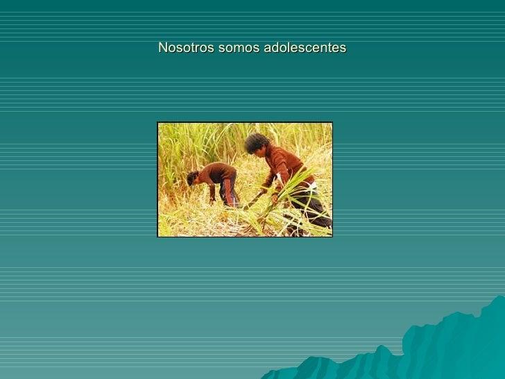 Adolescencia power Slide 3