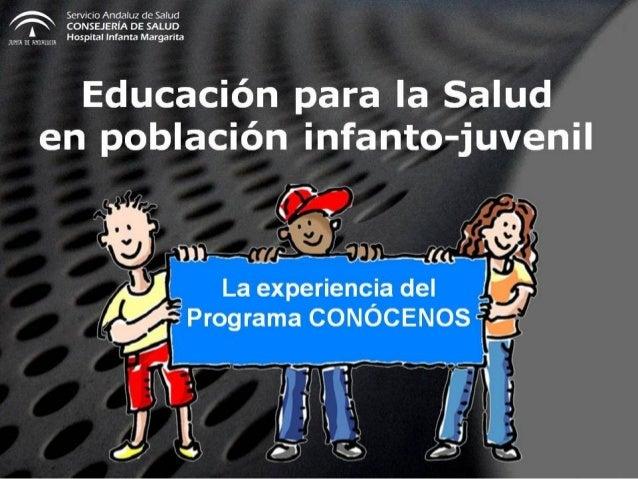 Programa CONOCENOS de visitas de centros educativos