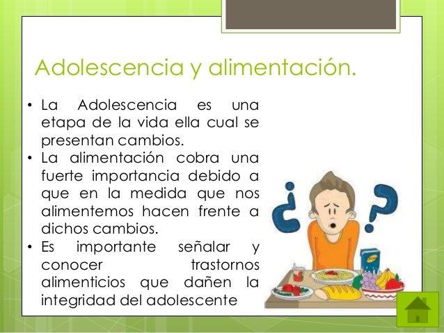 Adolescencia y alimentación.( Cen BalamPracticaPowerPoint )