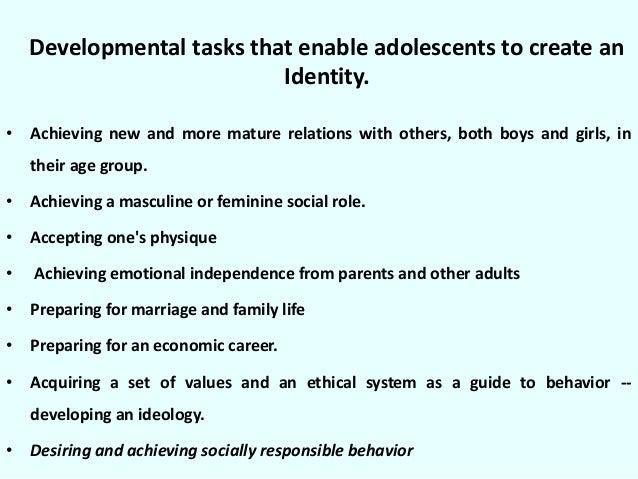 developmental tasks definition