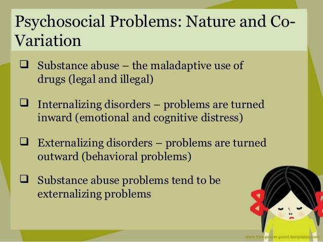 Adolescent behavioral problem