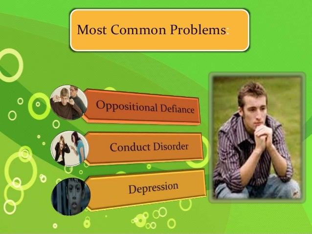 Behavioral Problems In Youths Are >> Adolescent Behavioural Problems