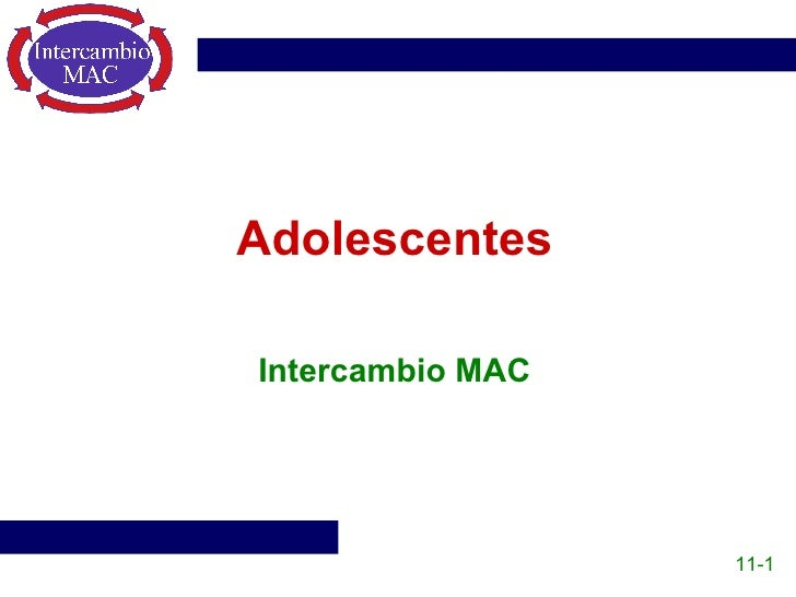 Adolescentes Intercambio MAC