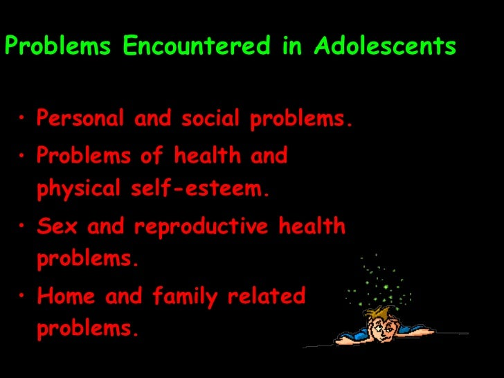 essay on problems of adolescence