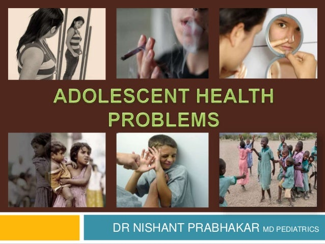 Adolescent health problems
