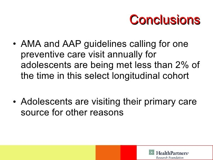adolescent preventive services presentation rh slideshare net Adult Health Screening Chart Adult Preventive Care