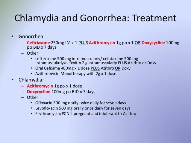 medication for chlamydia