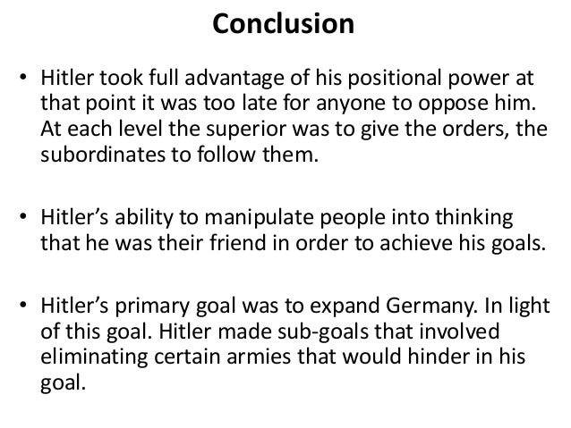 How did Hitler rise to power (1933) and consolidate his power (1934)